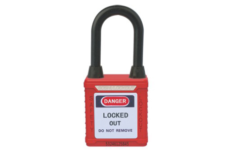 DUST-PROOF SAFETY PADLOCK