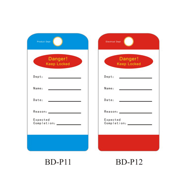 Department Tagout BD-P11~P15